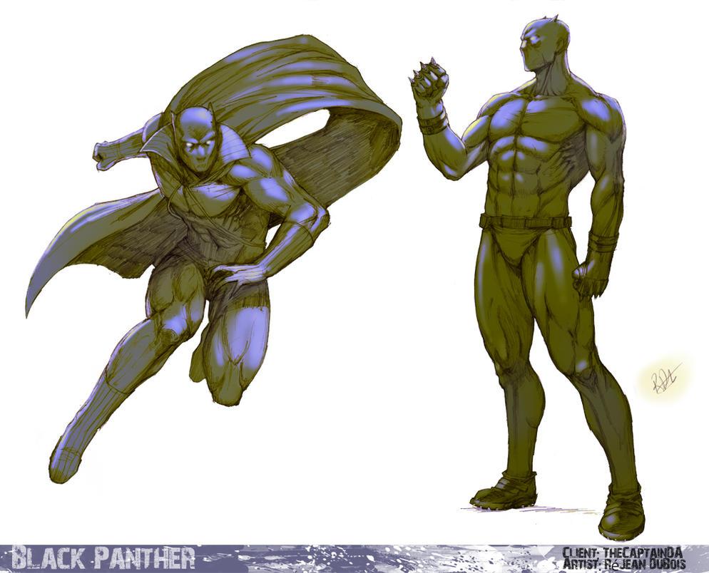 Black Panther By Portela On Deviantart: Black Panther By Kasai On DeviantArt