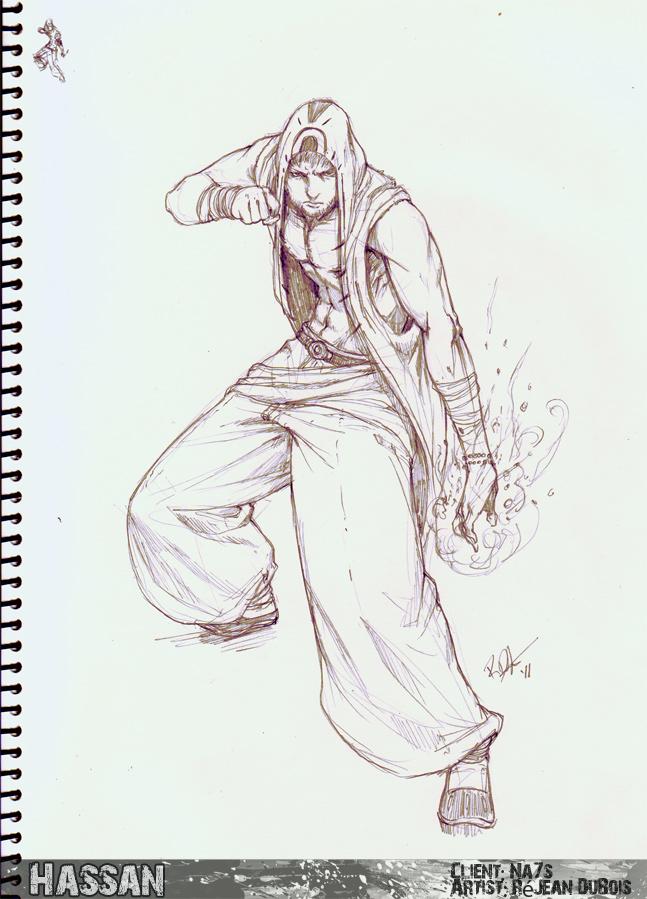 Commissh - Hassan by kasai