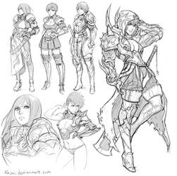 Armor Jylz by kasai