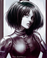 Gunm - Gally/Alita by kasai