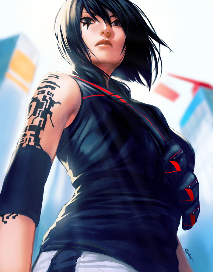 Faith - Mirror`s Edge Catalyst by kasai
