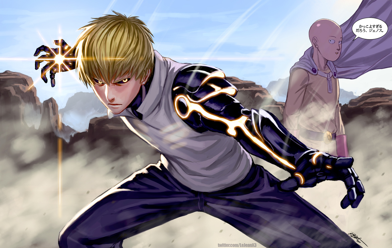 Genos | OnePunch-Man Wiki | FANDOM powered by Wikia