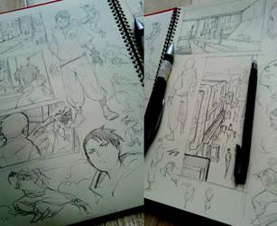 Sketchbook stuff by kasai