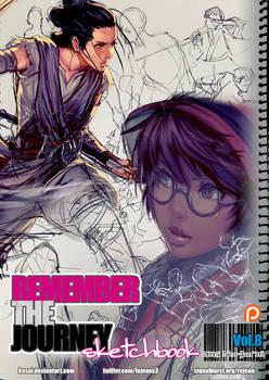 REMEMBERtheJOURNEY Sketchbook Vol.8+PSD+Video $5