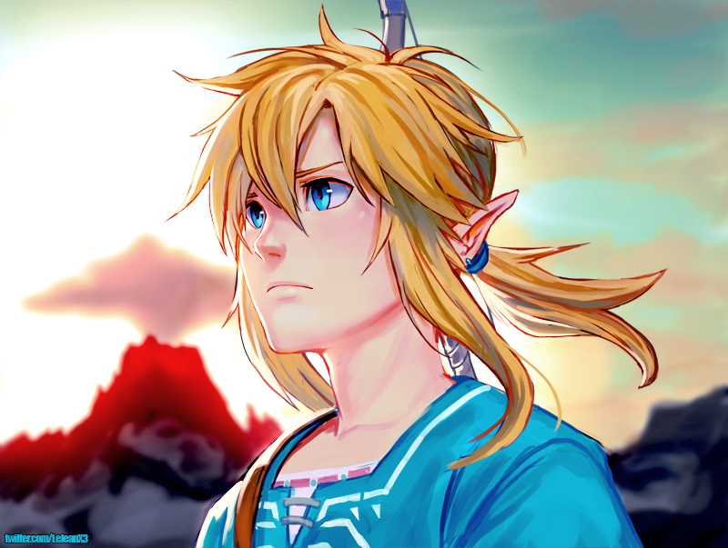 Botw Link By Kasai On Deviantart