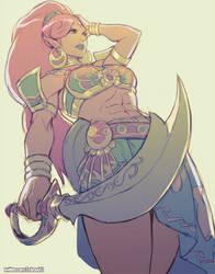 Commission - Lady Urbosa by kasai