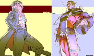 Commission - Harlow and Raziel