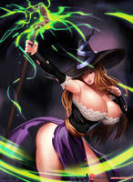 Sorceress - Dragon`s Crown by kasai