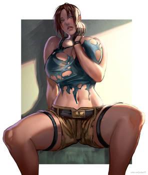 Lara Croft sfw-nsfw