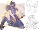 Commission - Shin Hisako