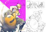 Commission - Blade Roller