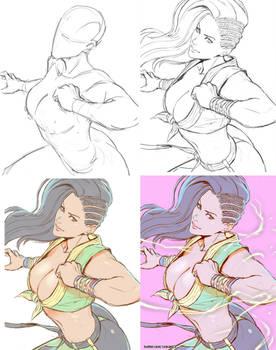 Laura Matsuda - step images