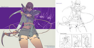 Commission - Saika Kunoichi