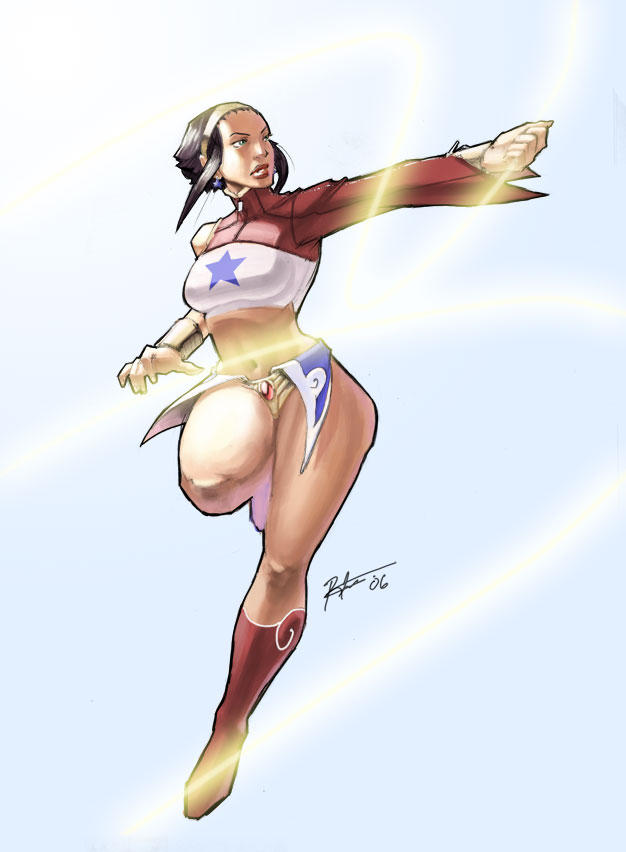 ReDes: Wonder Woman by kasai