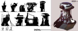 Steel Dominion - Guard Tower