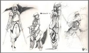 Chara 09 - 12 by kasai