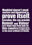 Honour and Valour