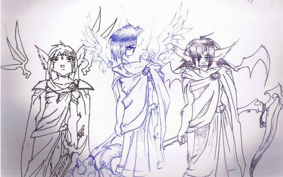 Triumvirate of Light