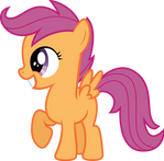 Scootaloo Grin