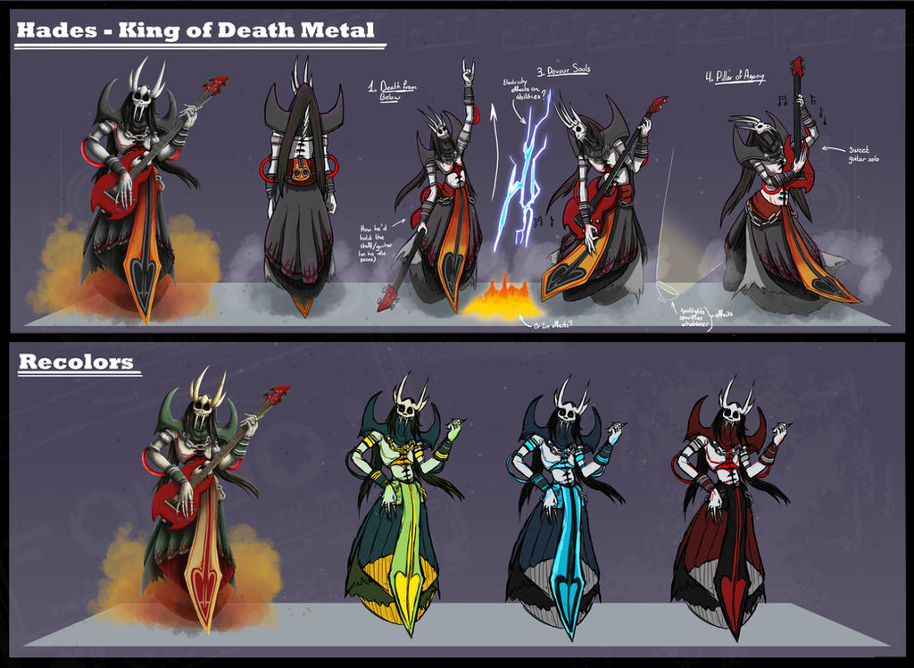 Possible new hades skin smite for Metal concept