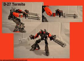 Destroyer 27 Termite by welcometothedarksyde