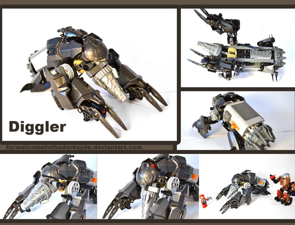 Diggler by welcometothedarksyde