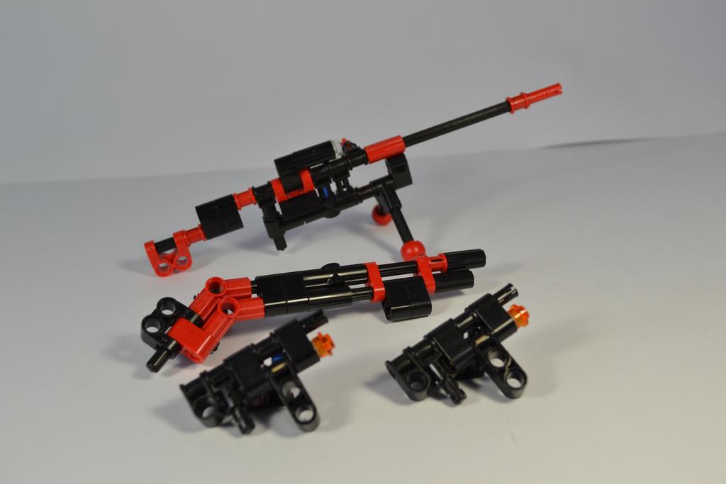 Random Guns by welcometothedarksyde