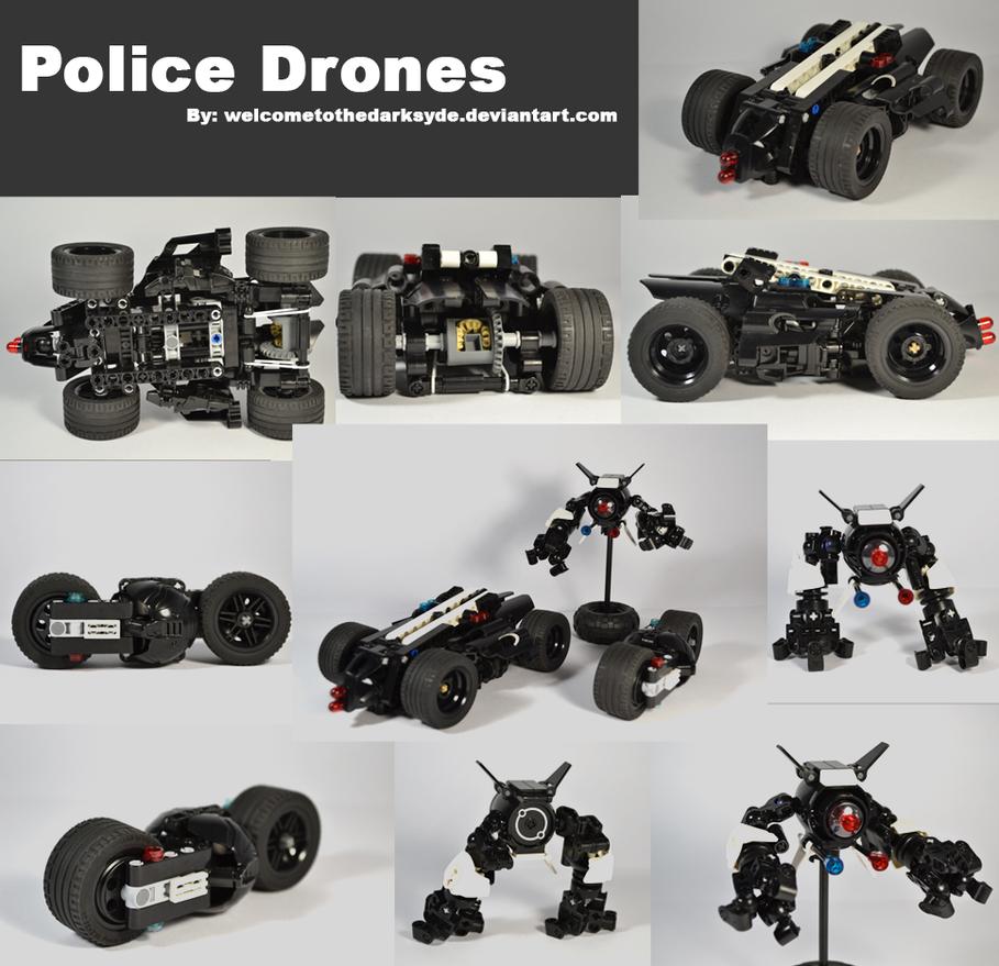 Police Drones by welcometothedarksyde