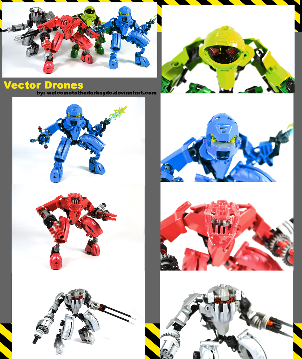Vector Drones by welcometothedarksyde