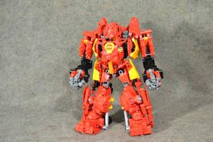Orion Hardsuit: Hero Factory MOC by welcometothedarksyde