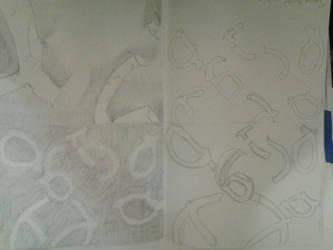 Pretzel drawing by IDKNearLoverPerson