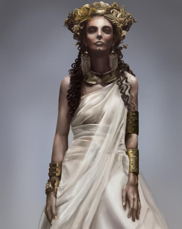 Study Ancient Queen Zeon Deviantart