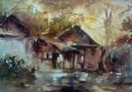 Watercolor - Study of Liu FengLan by Zeon1309