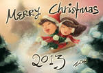 Merry Christmas 2013 by Zeon1309