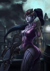 Fan Art - Widowmaker Overwatch by Zeon1309