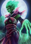 Fan Art - Death Prophet by Zeon1309