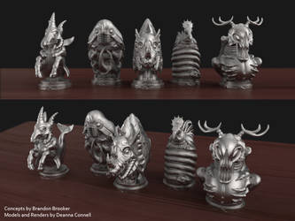 Creature Totems: Set 1 by TempestWorks