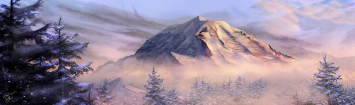 Mount Rainier by TempestWorks