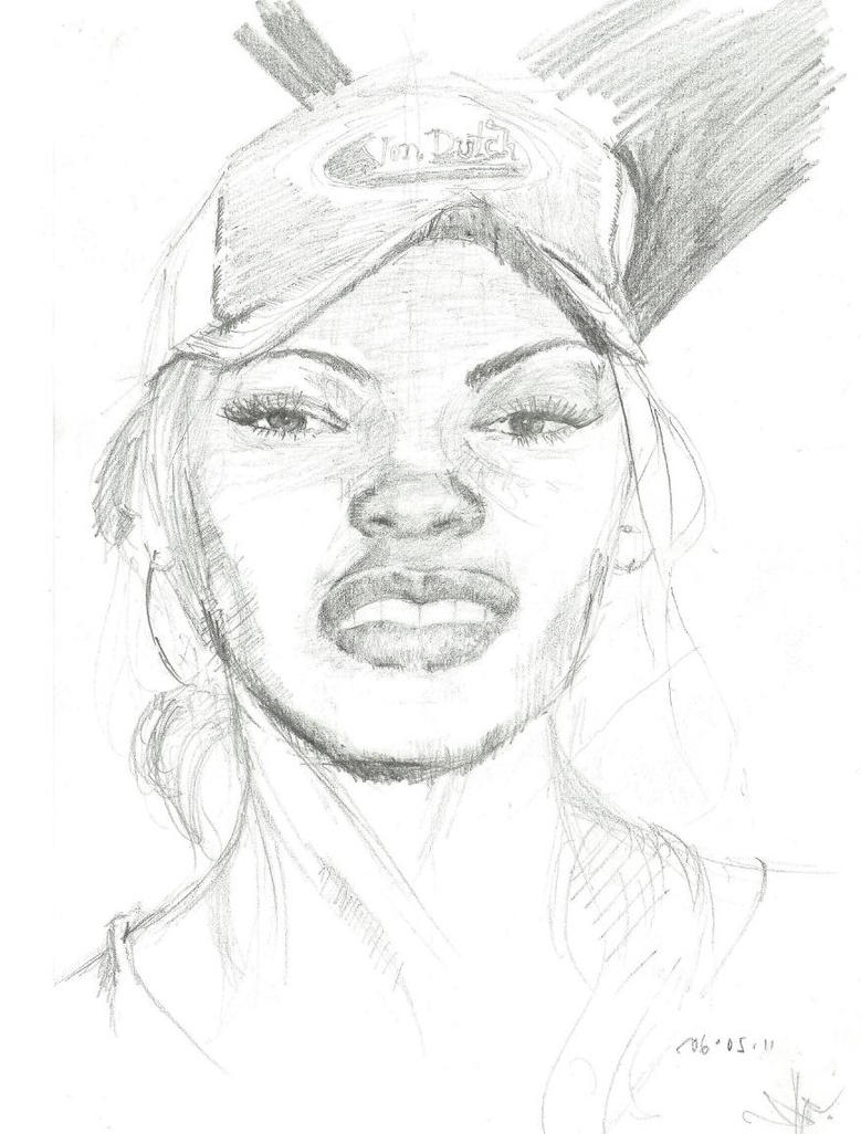 meagan good by TEEROCK