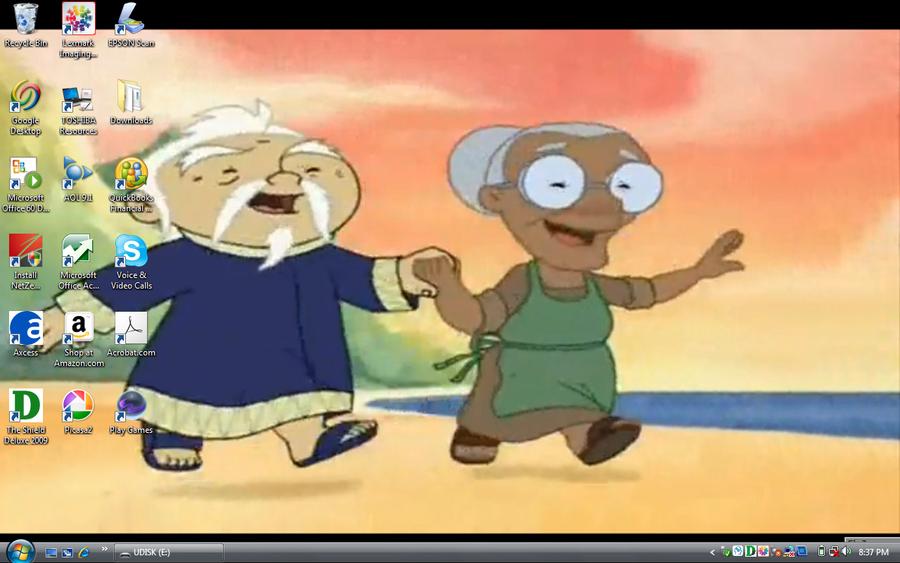 Lilo n Stitch crossover couple by kfc28371