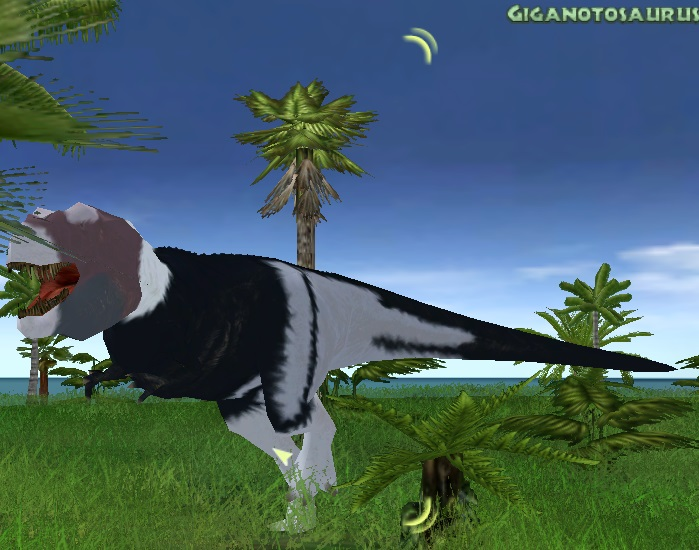 giganotosaurus jpog gondwana by thylaco on deviantart