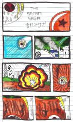 Dragonball INFINITE Saga 1 Episode 1 page 1