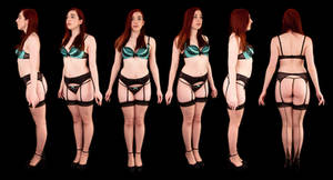 Orthographic Setina Underwear by LexLucas
