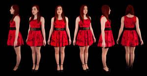 Orthographic Setina Dress