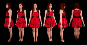 Orthographic Setina Dress by LexLucas