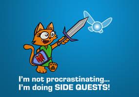 I'm not procrastinating...