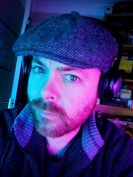 LX Cyberpunk Selfie