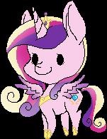 Pixel Princess Cadence by KimkahMakara