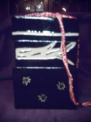 Ceramic Bento Box with Tie