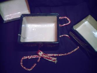 Ceramic Bento Box Layered